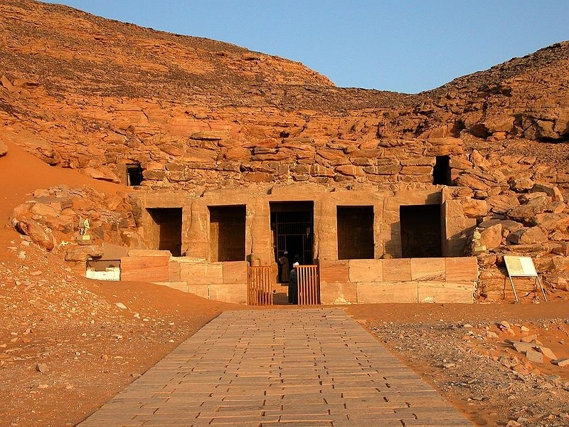 Amada Temple in Upper Egypt