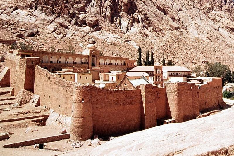 St. Catherine Monastery in Sinai