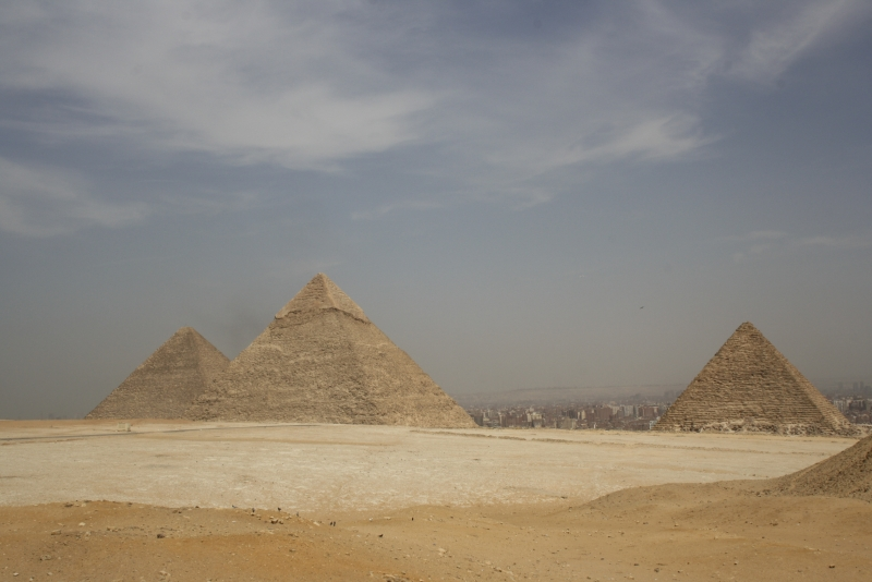 the Pyramids Panorama, Egypt