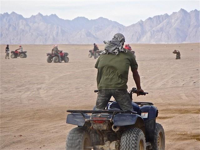 Quad fahren und Schnorcheln in Marsa Mubarak