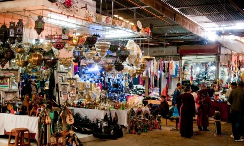 El Mercado del domingo en Agadir