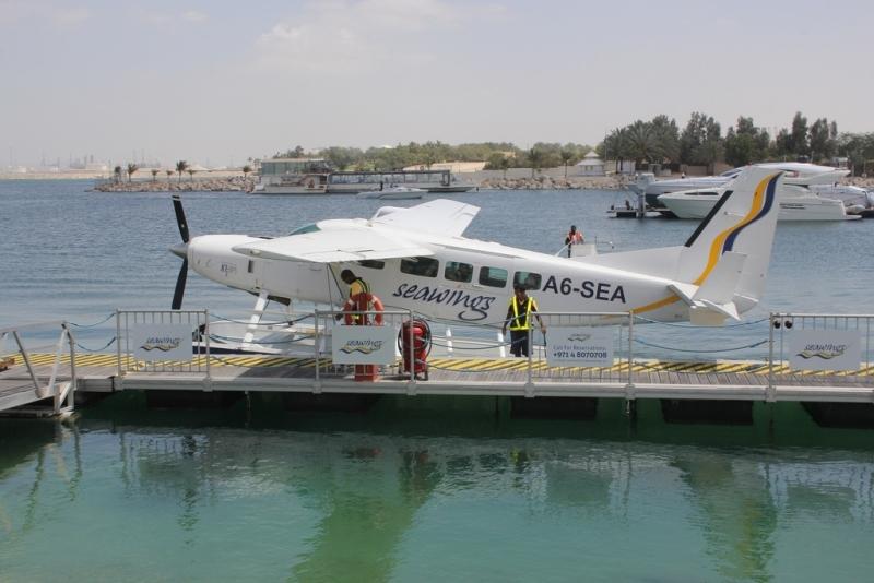 Vol en Hydravion sur Dubaï