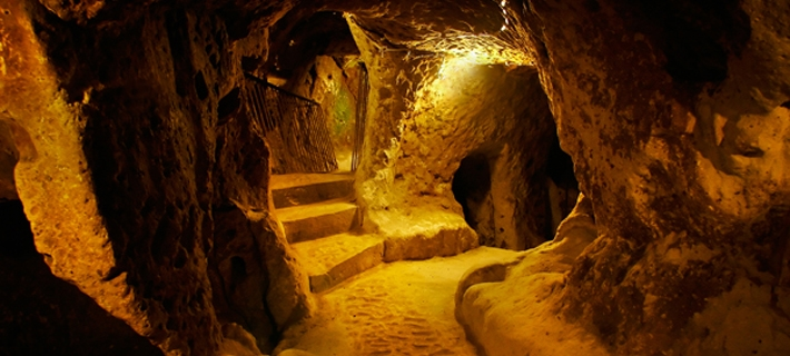 Derinkuyu Underground City of Turkey