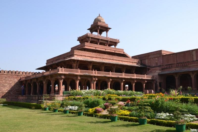 Panch Mahal en Fatehpur Sikri