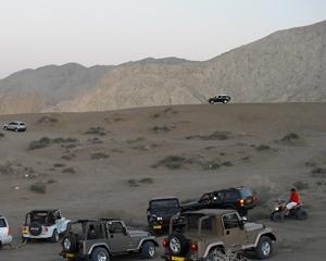 Bawshar Sands of Oman