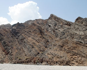 Jurassic bedding in Oman