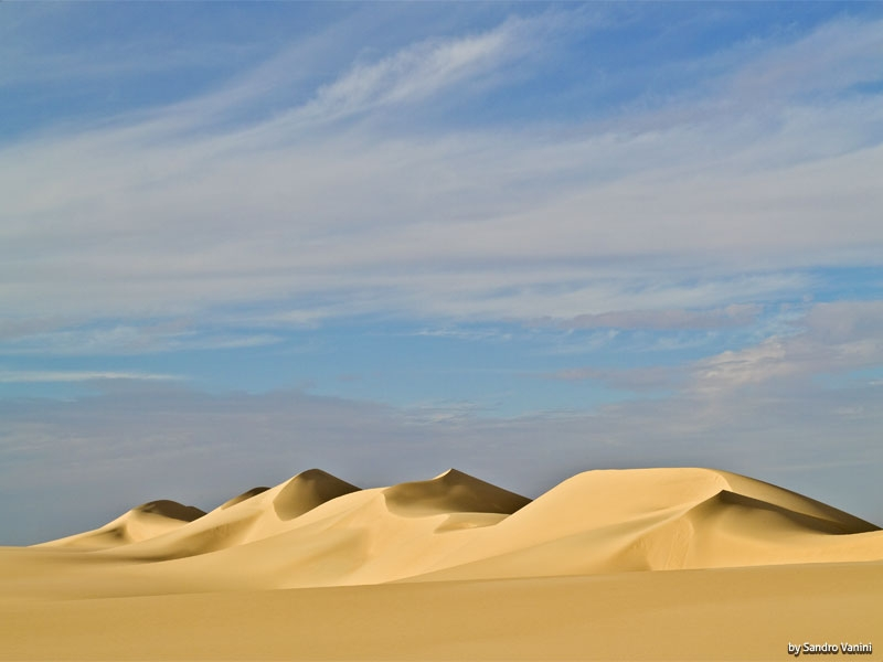Soft Sand in The White Desert