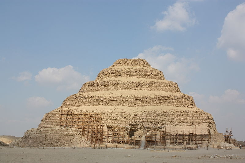 Djoser Step Pyramid at Saqqara