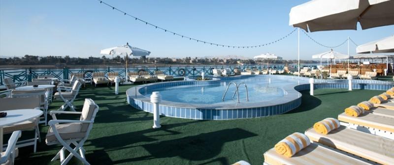 索内斯特月亮女神尼罗河邮轮,游泳池