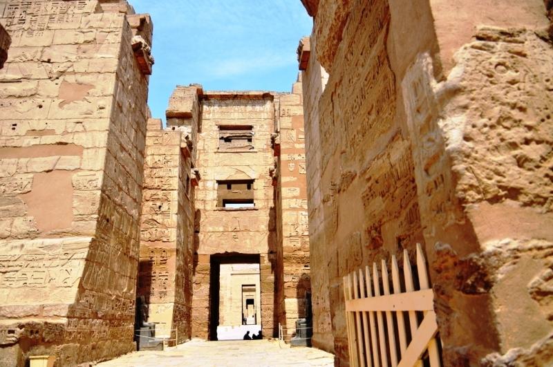 Temple of Habu, Luxor