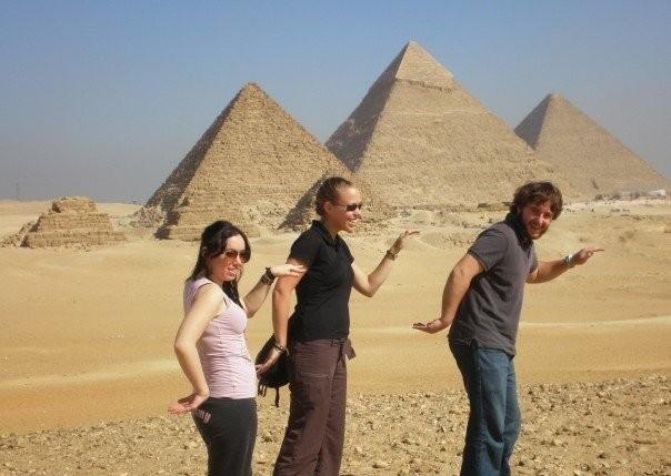 Пирамиды и Круиз по Нилу (на поезде)