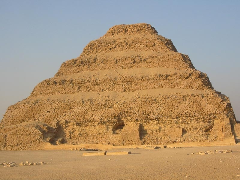 Step Pyramid in Sakkara | Djoser Step Pyramid