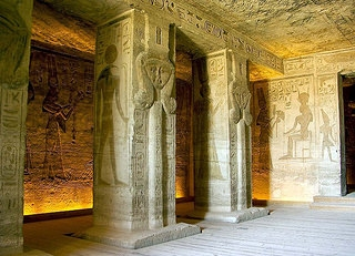 Inside The Temple of Queen Nefertari