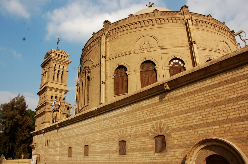 The church of Saint Barbara in Egypt