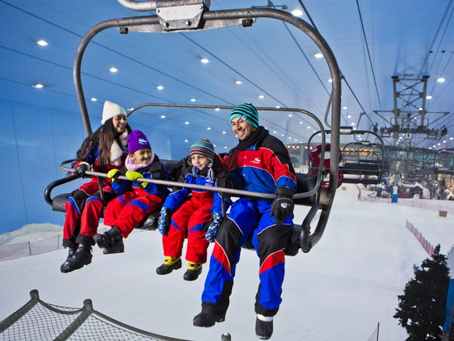 Ski Dubai Tour & 2 Hours Ski Pass