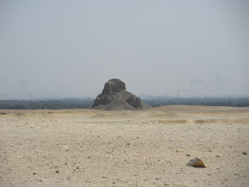 Black Pyramid Near Dahshure Area