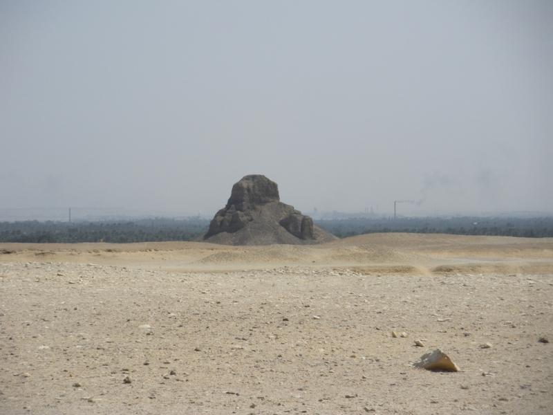 Black Pyramid Near Dahshure Area