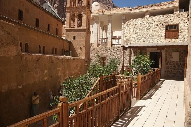 St. Catherine Monastery in Sinai Peninsula, Egypt