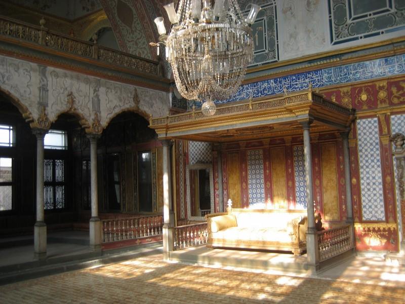 Inside Topkapi Palace, Turkey