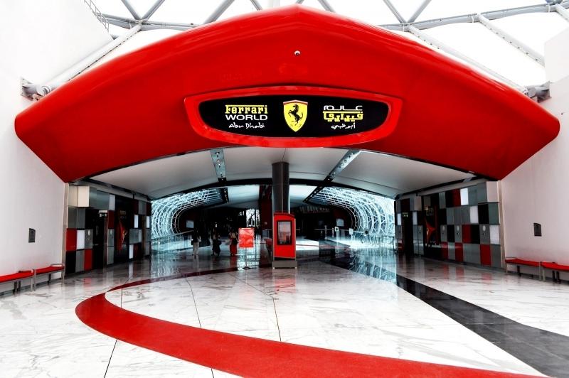 Parco di Ferrari World, Abu Dhabi