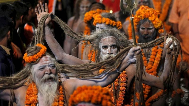 Kumbh Mela Festival in India