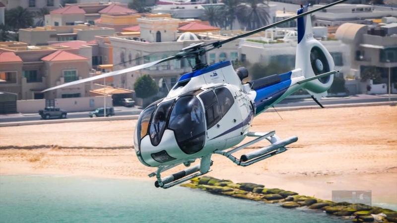 Elicottero, Dubai