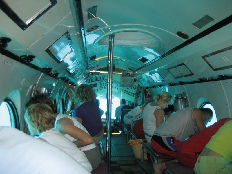 Sindbad U-Boot Tour ab Safaga Hafen