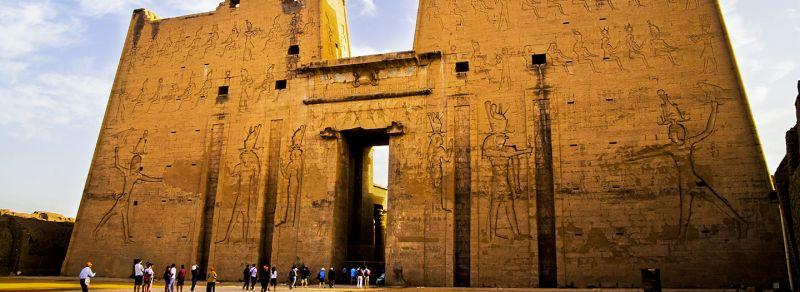 Horus Tempel von Edfu