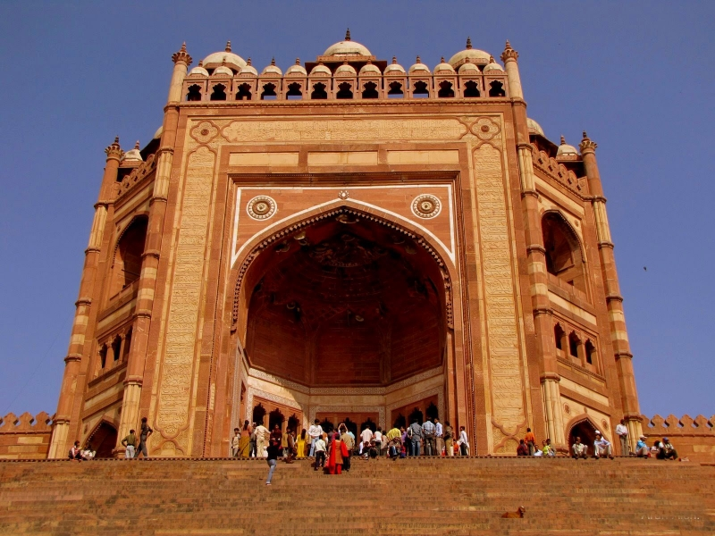la Ciudad de Fatehpur Sikri