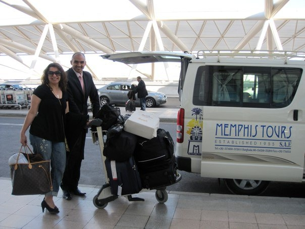 Assistance of Memphis Tours in Cairo Airport