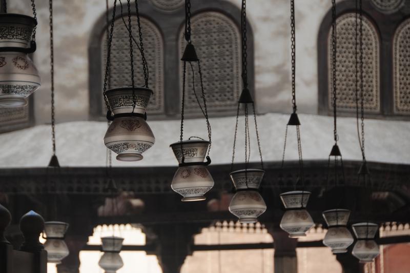 Mosque of Sultan Hasan overlooking the Saladin Citadel