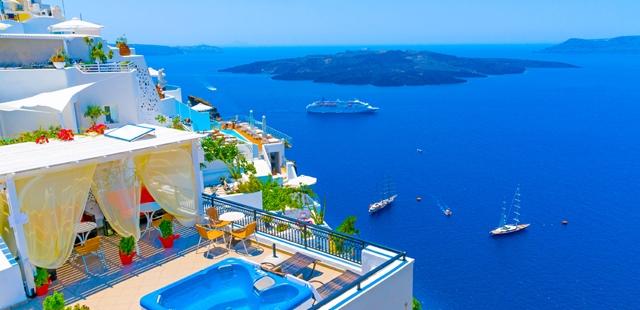 Amazing View from Santorini