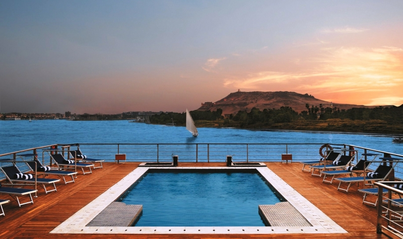 Oberoi Zahra Nile Cruise Pool