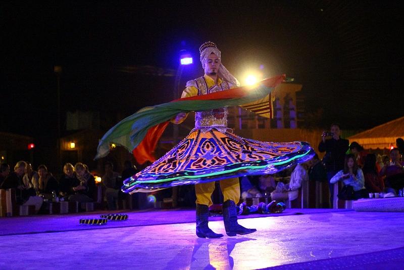Tanoura Dancing in the Campsite