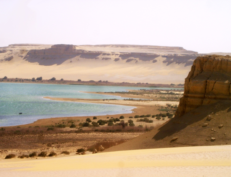 Lac, Wadi Rayan