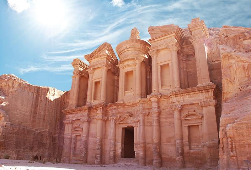 Il Monastero a Petra - Tour della Giordania