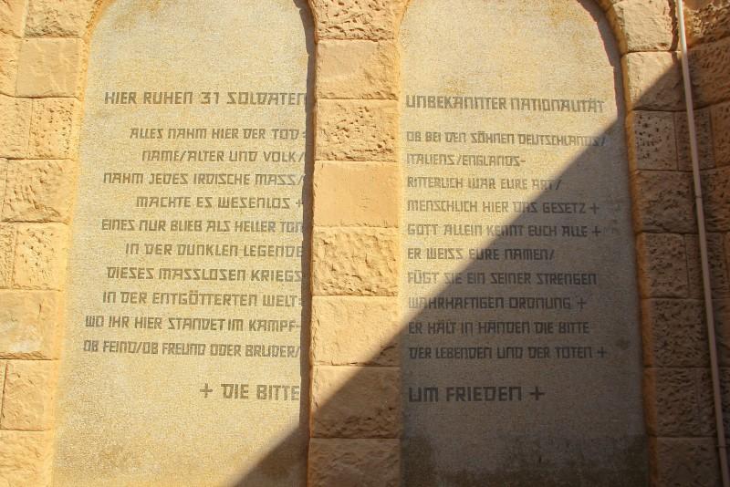 Al Alamein World War II Cemeteries