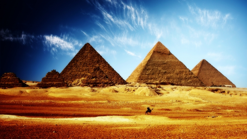 The great Pyramids, Cairo
