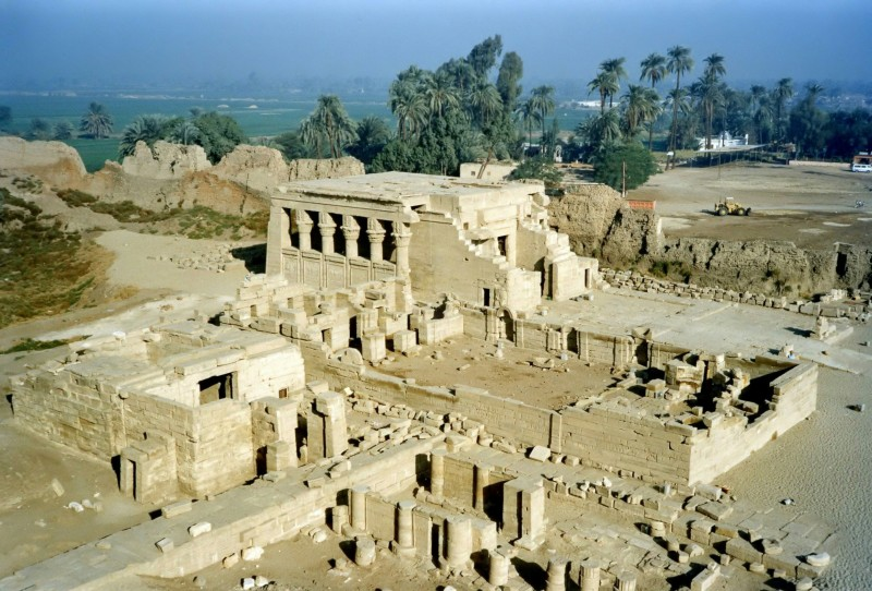 Dendera Temple in Luxor