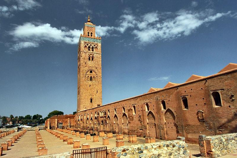La minarete de la Koutoubia.