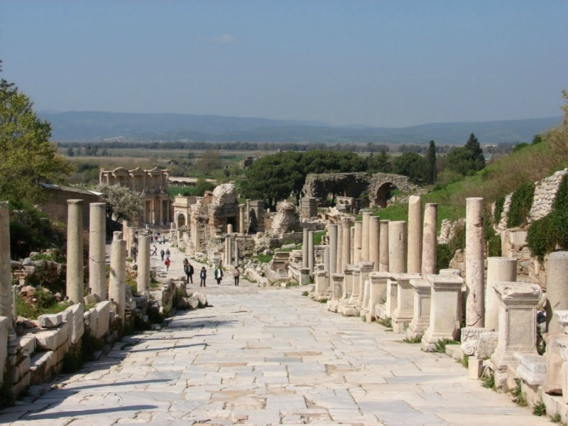 The Marble Street in Ephesus