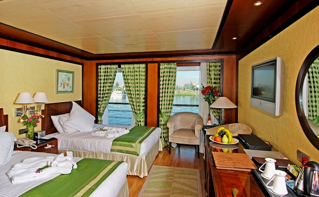 Nile Cruise Twin Bed Suite