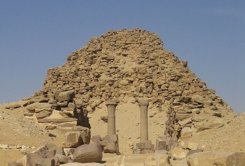 Pyramid of Sahure | Egypt Pyramids