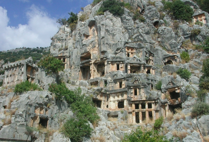 Myra of turkey