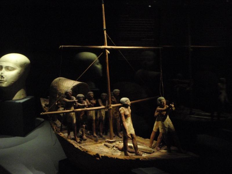 Sailing Group Model, Greco-Roman Museum