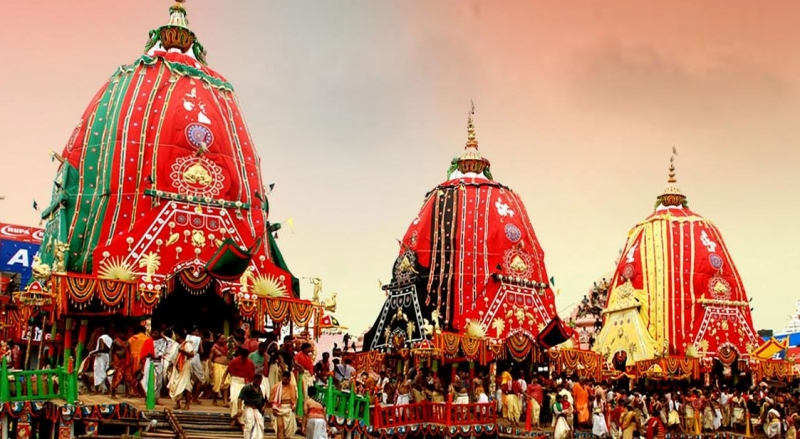 Ratha Yatra Festival India 2018
