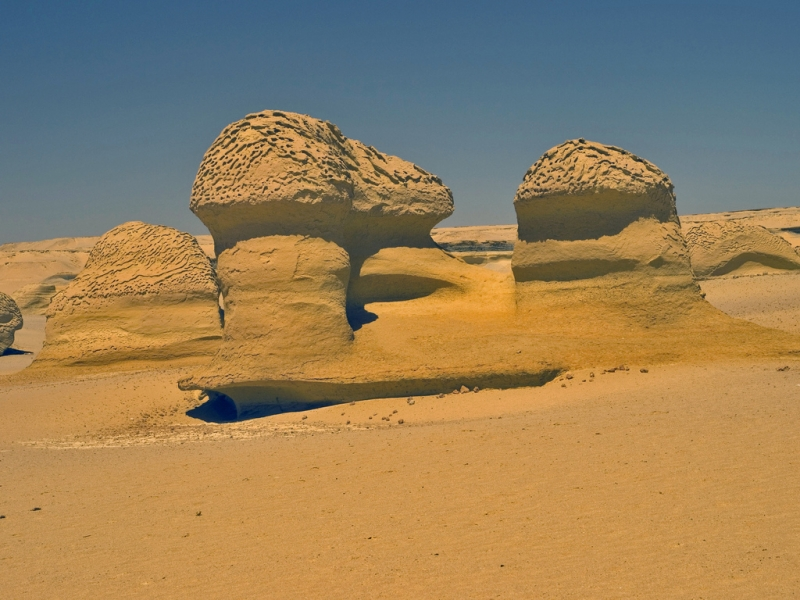 Valley of the Whales, 8 KM away from El Fayoum city, Egypt.