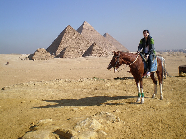 Horse Riding Tour Around the Pyramids