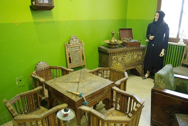 Exhibits in Amman Folklore Museum