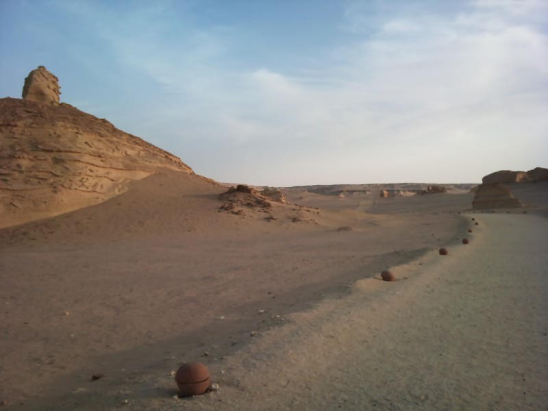 Valle de las Ballenas, a 8 km de la ciudad de El Fayum, Egipto.